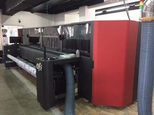 Totem Group installed the first EFI textile printer in Bulgaria